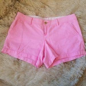 Lilly Pulitzer pink Callahan shorts 14